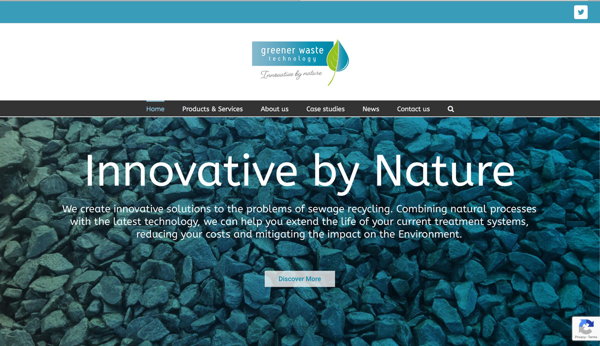 Greener Waste home page